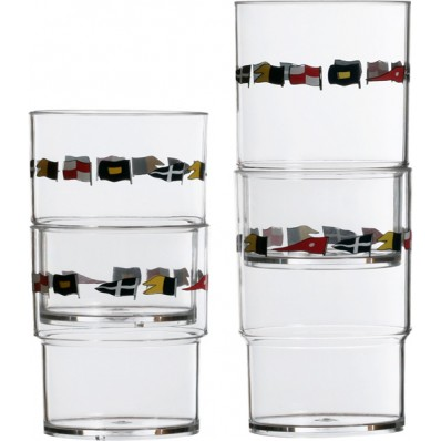 REGATA stackable glasses (12 pcs)