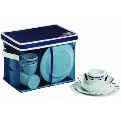 CANNES non-slip dinnerware set for 6 (25 pcs)