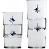 NORTHWIND stackable glasses (12 pcs)