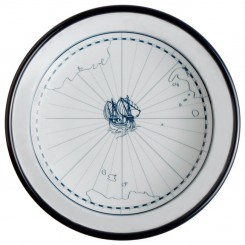 COLUMBUS deep plate Ø18cm (6 pcs)