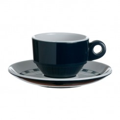 COLUMBUS espresso cup with saucer (6 pcs)