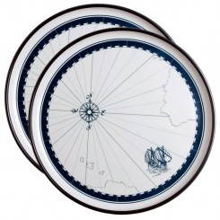 COLUMBUS serving platters (2 pcs)