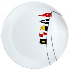 REGATA non-slip dinner plate Ø25cm (6 pcs)