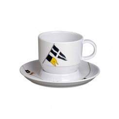 REGATA cup with saucer (6 pcs)
