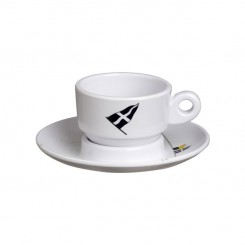 REGATA espresso cup with saucer (6 pcs)