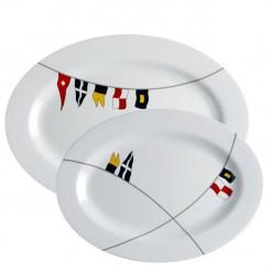 REGATA serving platters (2 pcs)