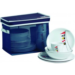 REGATA non-slip dinnerware set for 6 (25 pcs)