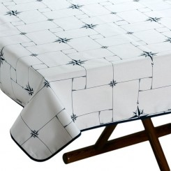 NORTHWIND stainproof tablecloth 115x100cm (white)