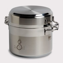 Cookware stainless steel (11 pcs)