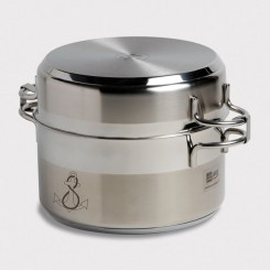 Cookware stainless steel (7 pcs)