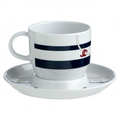 CANNES cup with saucer (6 pcs)