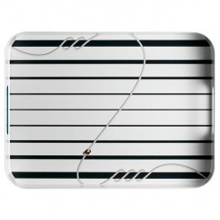 CANNES rectangular serving tray