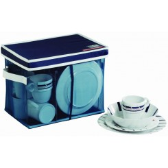 CANNES non-slip dinnerware set for 6 (25 pcs)