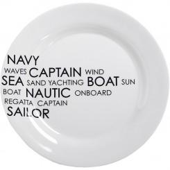 SEA dinner plate Ø25cm (6 pcs)