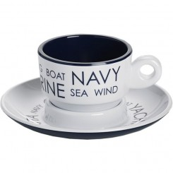 SEA espresso cup with saucer (6 pcs)