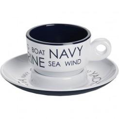 SEA espresso cup with saucer (6 pcs)