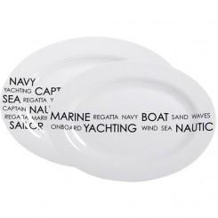 SEA serving platters (2 pcs)