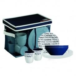 SEA dinnerware set for 6 (25 pcs)