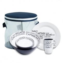 SEA dinnerware set for 4 (16 pcs)