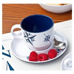 NORTHWIND cup with saucer (6 pcs)