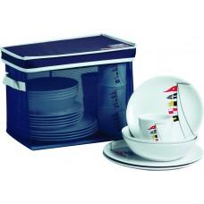 REGATA non-slip dinnerware set for 6 (25 pcs)