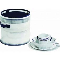 CANNES non-slip dinnerware set for 4 (16 pcs)